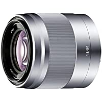 SONY E 50mm F1.8 OSS SEL50F18 -S (Silver) for Sony E-mount Nex cameras - International Version (No Warranty)