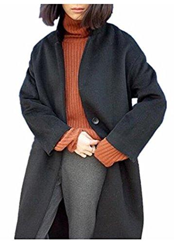 咽頭吸収剤醜いForeMode 女性の冬のロングウールコート