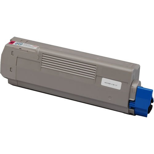 Do it Wiser Remanufactured Toner Cartridge For Okidata C610 C610n C610dn C610cdn C610dtn - 44315302 - Magenta