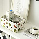 TcaFmac Small Basket,Fabric Storage Basket for