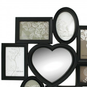Kole Imports PF135 N/A 8 in 1 Heart Center Collage Photo Frame by Kole Imports