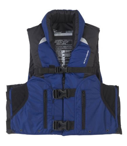 Stearns Competitor Series Life Vest, Blue, - Life Competitor Series