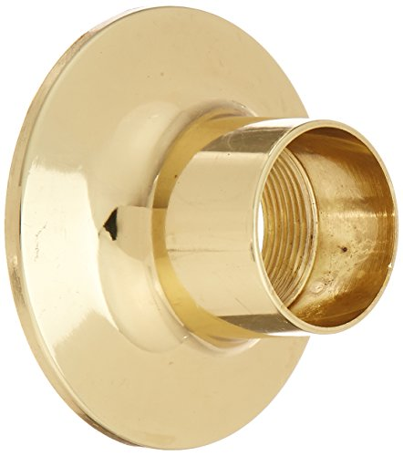 Widespread Lav Faucet Polished Brass - LASCO 03-1623P Widespread Flange for Price Pfister Brand, Polished Brass