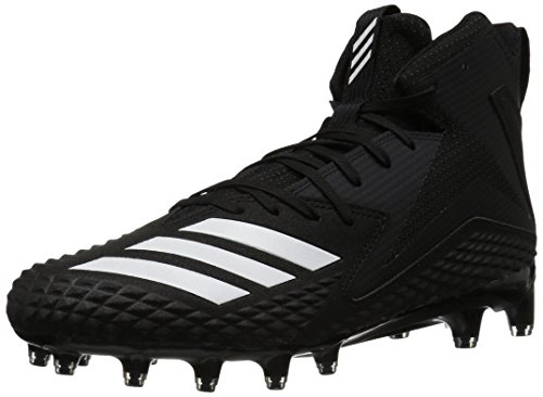 adidas Men's Freak x Carbon Mid Football Shoe, White/Black, 10 M -