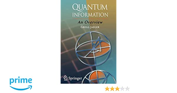 Quantum Information: An Overview