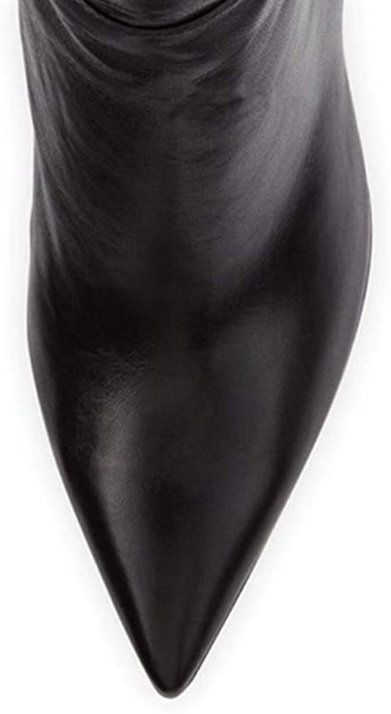 High Heels Over The Knee Boots Women's Boots Black