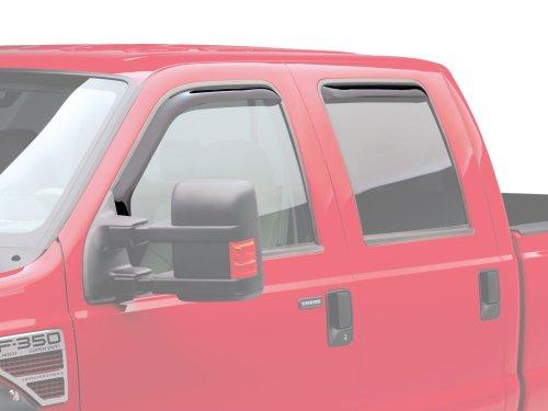 Ford Excursion Vent - EGR 573151 WindowVisor Dark Smoke 4-Piece in-Channel Tapeless Window Visors