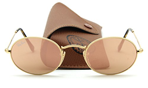 Ray-Ban RB3547N OVAL FLAT LENSES Unisex Sunglasses 001/Z2, - Sunglasses Flat Oval Lense