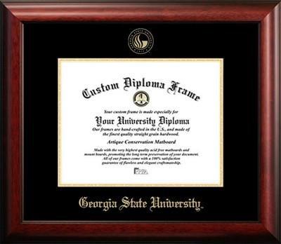Georgia State University Graduation Diploma Frame