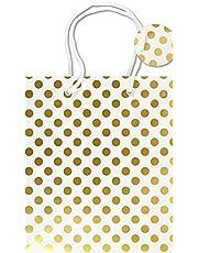 Gold Dots Gift Bag
