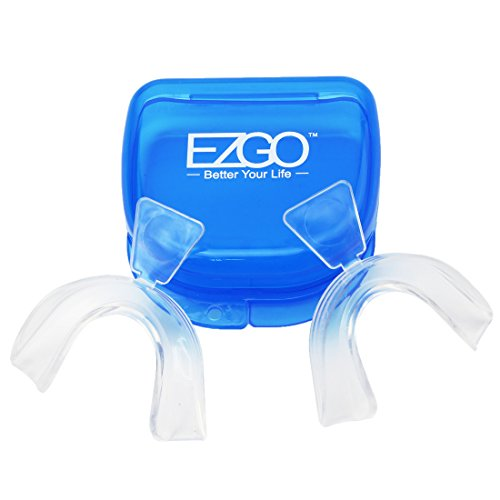 EZGO Teeth Whitening Trays Moldable Tooth Whitening Tray Moldable Mouth Guard teeth grinding mouth guard