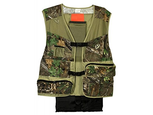 Scent Blocker Torched Turkey Vest, Green, Medium/Large (Scent Blocker Ripstop)
