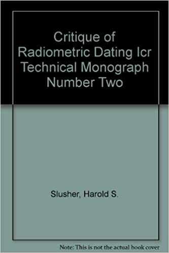 Critique of Radiometric Dating Icr Technical Monograph