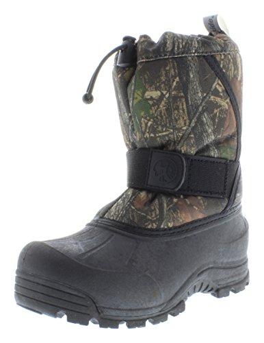 [Northside Zephyr Waterproof Cold Weather Boot (Toddler/Little Kid/Big Kid), Brown Camo, 7 M US Big] (Brown Boots For Kids)