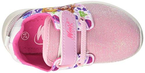 Winx S17803haz - Patucos de tela para niña rosa Size: Rosa