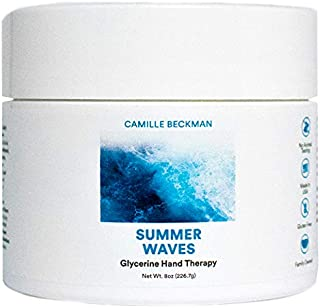 product image for Camille Beckman Glycerine Hand Therapy Cream, Summer Waves, 8 Ounce