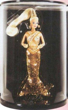Bob Mackie Gold Barbie from Bob Mackie