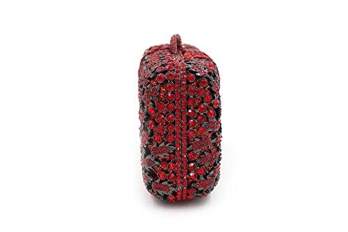 Chirrupy Chief - Cartera de mano para mujer Morado morado small Red