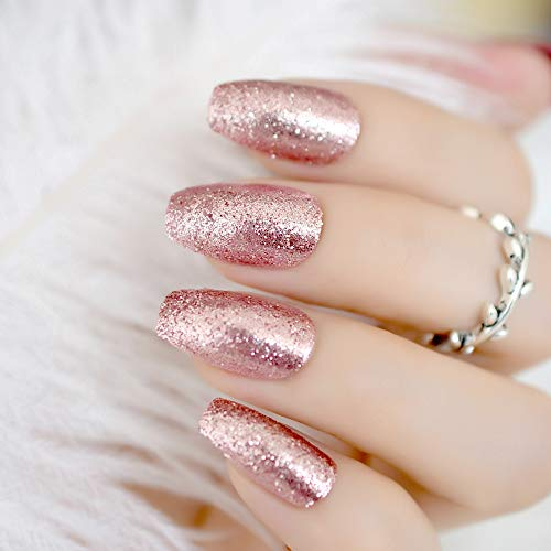 Top 10 best fake nails rose gold