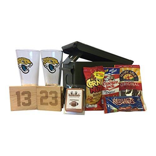 Ammo Gift Box Football Gift Package - NFL - Jacksonville ()