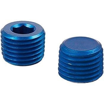 Aeroquip FCM3749 Blue Anodized Aluminum 1//2 NPT Allen Head Pipe Plug
