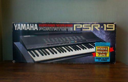 Teclado Portatone de 61 teclas para Yamaha 100 Voice de 1990 ...
