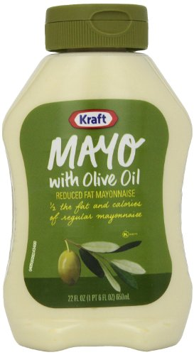 Kraft Mayonnaise with Olive Oil, 22 Ounce Squeeze