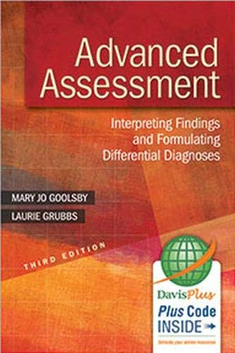 Associated Complete Differential - Advanced Assessment: Interpreting Findings and Formulating Differential Diagnoses