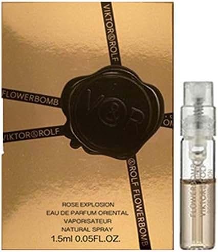 Viktor & Rolf Flowerbomb Rose Explosion Eau de Parfum Oriental Spray Sample 1.2ml/ 0.04oz