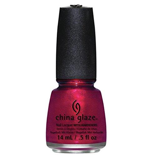 China Glaze Red Nail Polish: Amazon.com : China Glaze Nail Lacquer, Red-Y And Willing