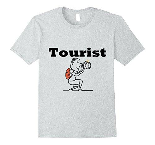Kids Tourist Costume (Mens LIMITED Tourist Shirt For Men, Women,Teens,Kids,Boys, Girls Small Heather Grey)