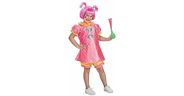 Amazon.com: Baby Doll Payaso Disfraz, S, Como se muestra ...