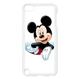 Popular And Durable Designed TPU Case with Disney Mickey Mouse Minnie Mouse For iPod Touch 5 Cell Phone Case White