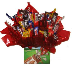 Chocolate Candy bouquet (Golfing Gift Box) by So Sweet of You