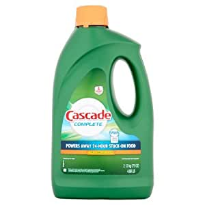 Amazon.com: Cascada Nueva completa Gel lavaplatos detergente ...