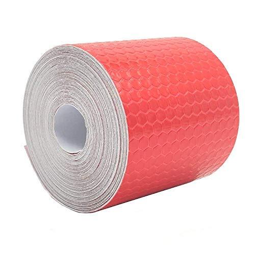 Shinequ-US Reflective Stripe,Reflective Warning Tape, 2Pcs High Intensity Reflective Safety Tape, 5 cm x 3 m by Shinequ-US (Image #1)