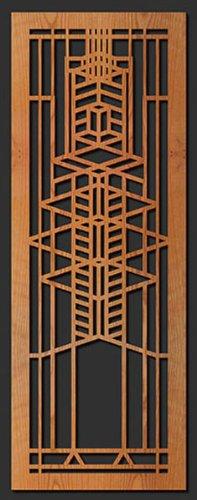 (Frank Lloyd Wright Robie Art Glass Window A Wall Element Cherry)
