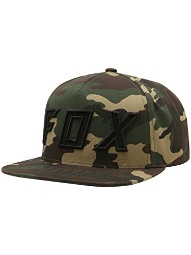 Fox Men's Posessed Snapback Hat, Camo, - Snap Best Back