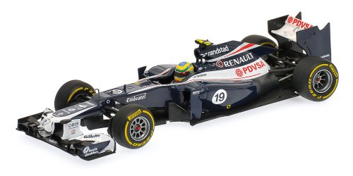 MINICHAMPS - Williams F1 Team Renault FW34 B.Senna 2012 (Diecast model)