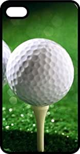 Teed Up Gold Ball Hole In One Tinted Rubber Case for Apple iPhone 4 or iPhone 4s