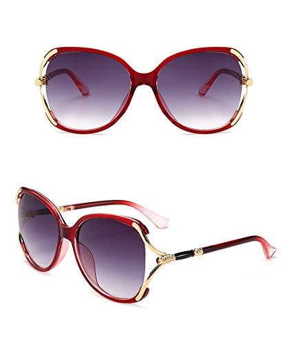 Gafas Anti De Ultravioletas Señoras Las Silver Sol Hombres De Retro del De De Grande Los Marco Gafas Sol vq1wnxgg