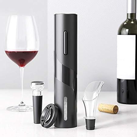 Lairun Sacacorchos eléctrico, abridor de Vino eléctrico 4 en 1, para cumpleaños, Bodas, Aniversarios, graduación