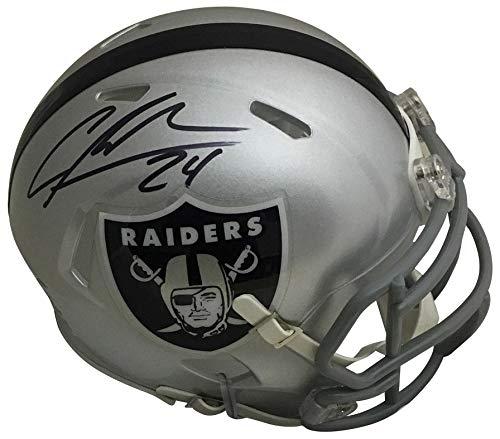 Charles Woodson Autographed Oakland Raiders Signed Football Mini Helmet PSA DNA COA