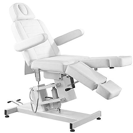 Fußpflegestuhl 25 elektrisch 1 Motor Massageliege Kosmetikliege