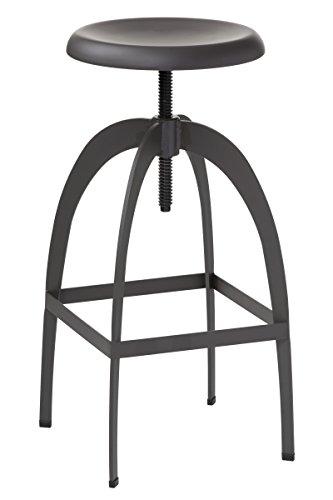 Sunpan Modern Colby Adjustable Barstool, Grey