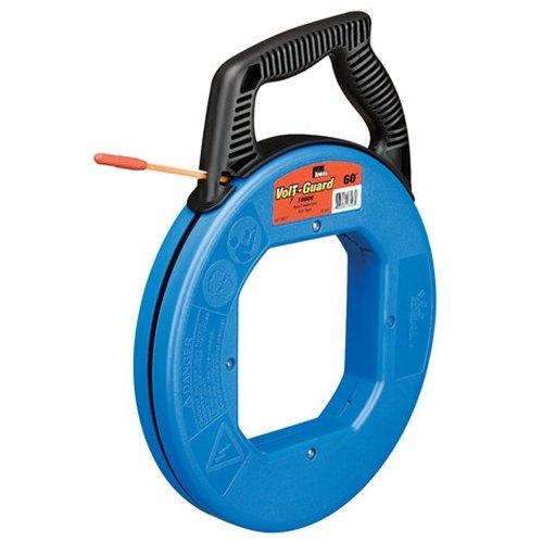 (Ideal Industries 31-544 120' Ft Orange Fiberglass Volt-Guard Fish Tape)