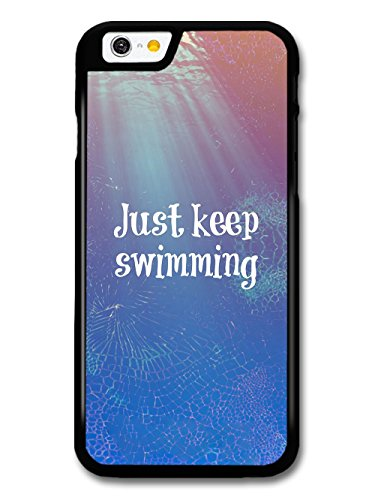 Finding Nemo Just Keep Swimming Dory Animation Movie Quote coque pour iPhone 6 6S