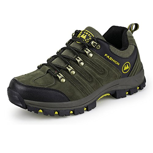 Chaussures légère Vert Imperméables Hommes de de pour Chaussures Hommes ailishabroy randonnée randonnée pRqRw