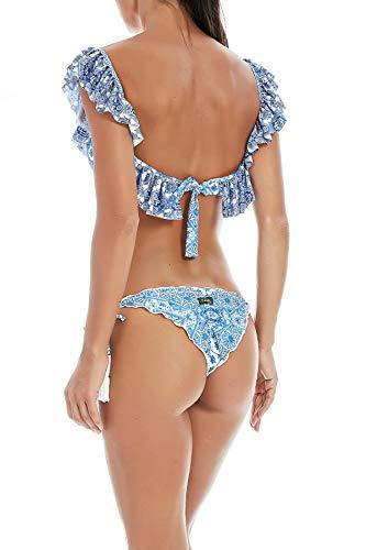 Biquini Mujer F f F18b1f103wh K Poliamida k Azul PBFx1