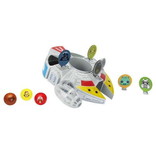 [Angry Birds Star Wars Millennium Falcon Bounce Game] (Skywalker Star Wars Cardboard Stand)